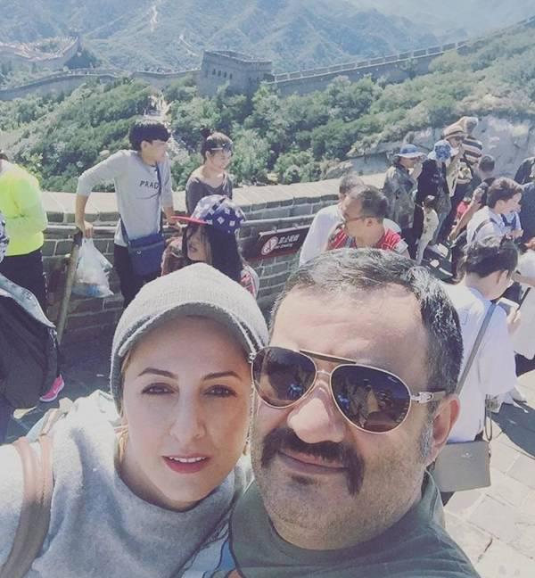 سفر شقایق دهقان و مهراب قاسم خانی به چین