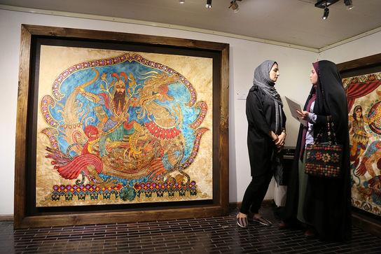 نمایشگاه نقاشی خضایی