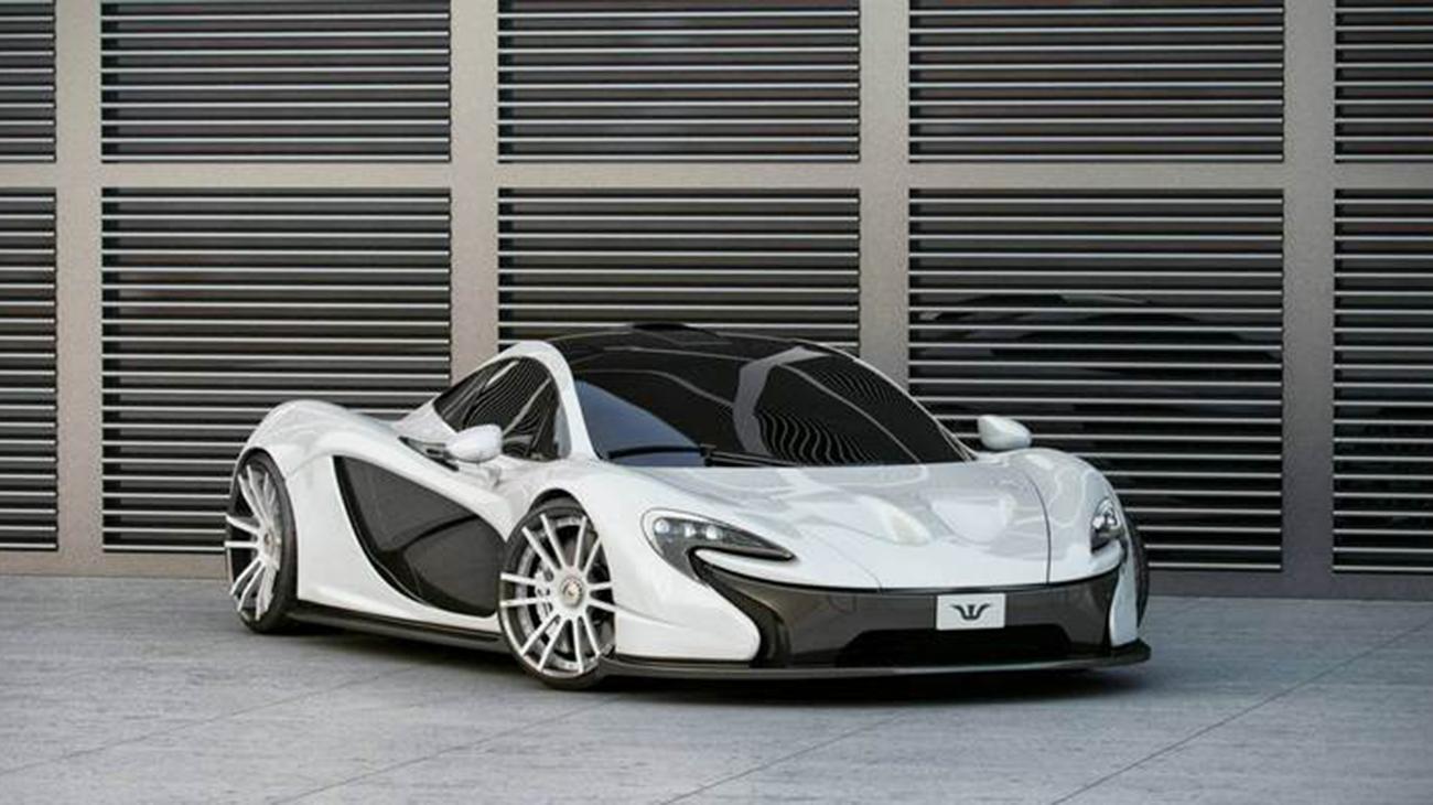 ویلس اند مور و مکلارن P1، مدلی خاص که خاص تر شده