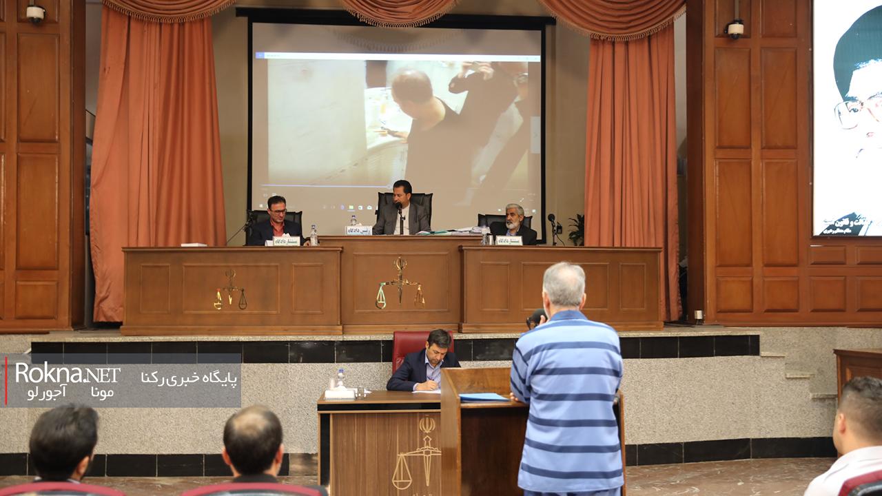 دادگاه نجفی پخش فیلم باز سازی صحنه