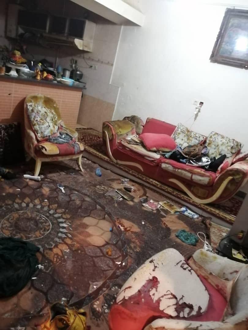 انفجار گاز خانگی در آبادان
