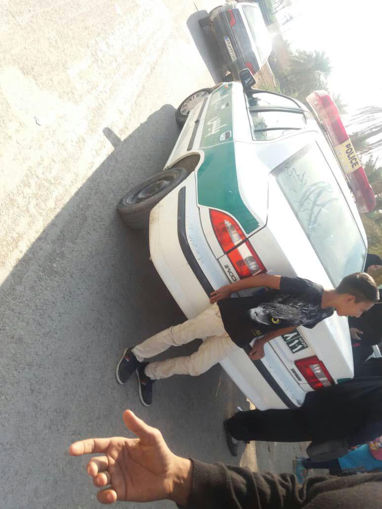 پلیس آبادان مرد معتاد مدرسه