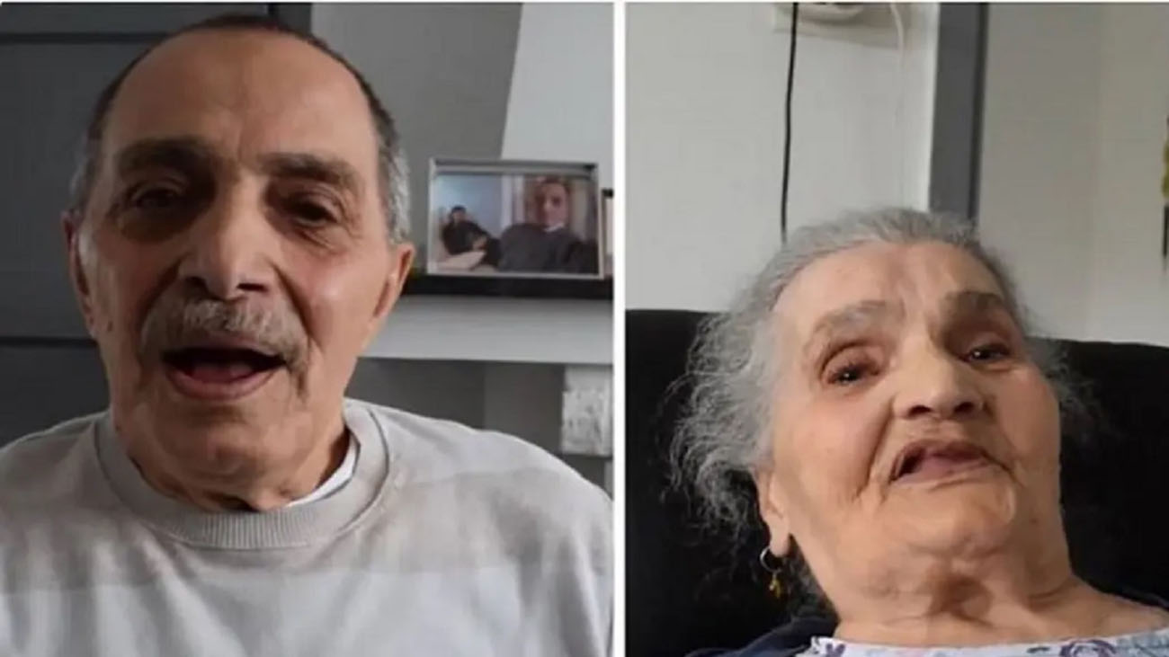 دیدار مادر و پسر پس از 73 سال