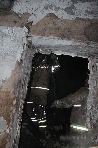 کارگاه شابلون زنی پارچه در آتش سوخت