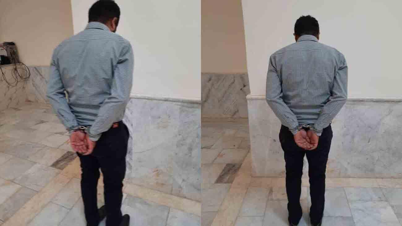 مامور حراست آبادان بازداشت