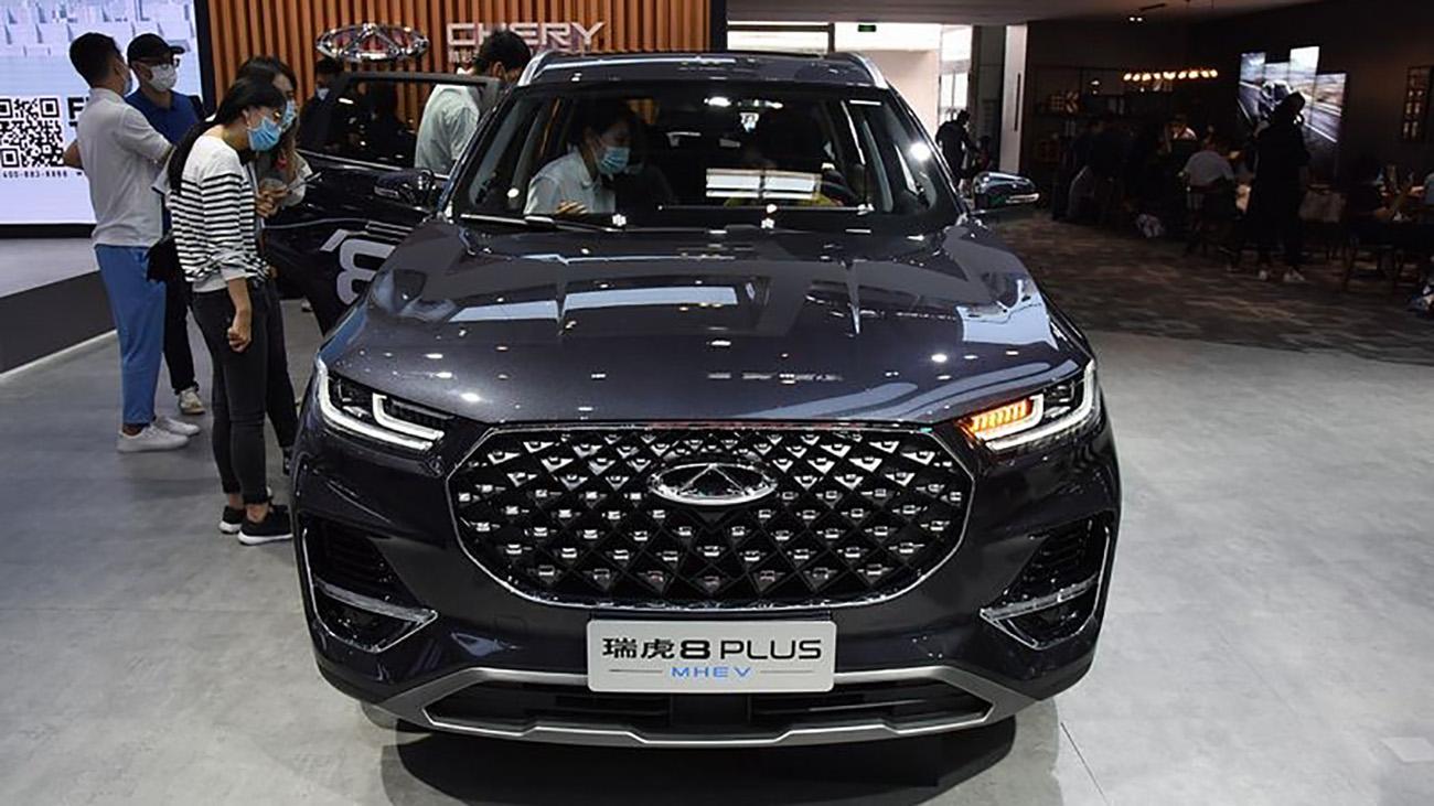 تیگو 8 - خودرو چینی - تولید مدیران خودرو - ام وی ام - کراس اوور چینی مونتاژی