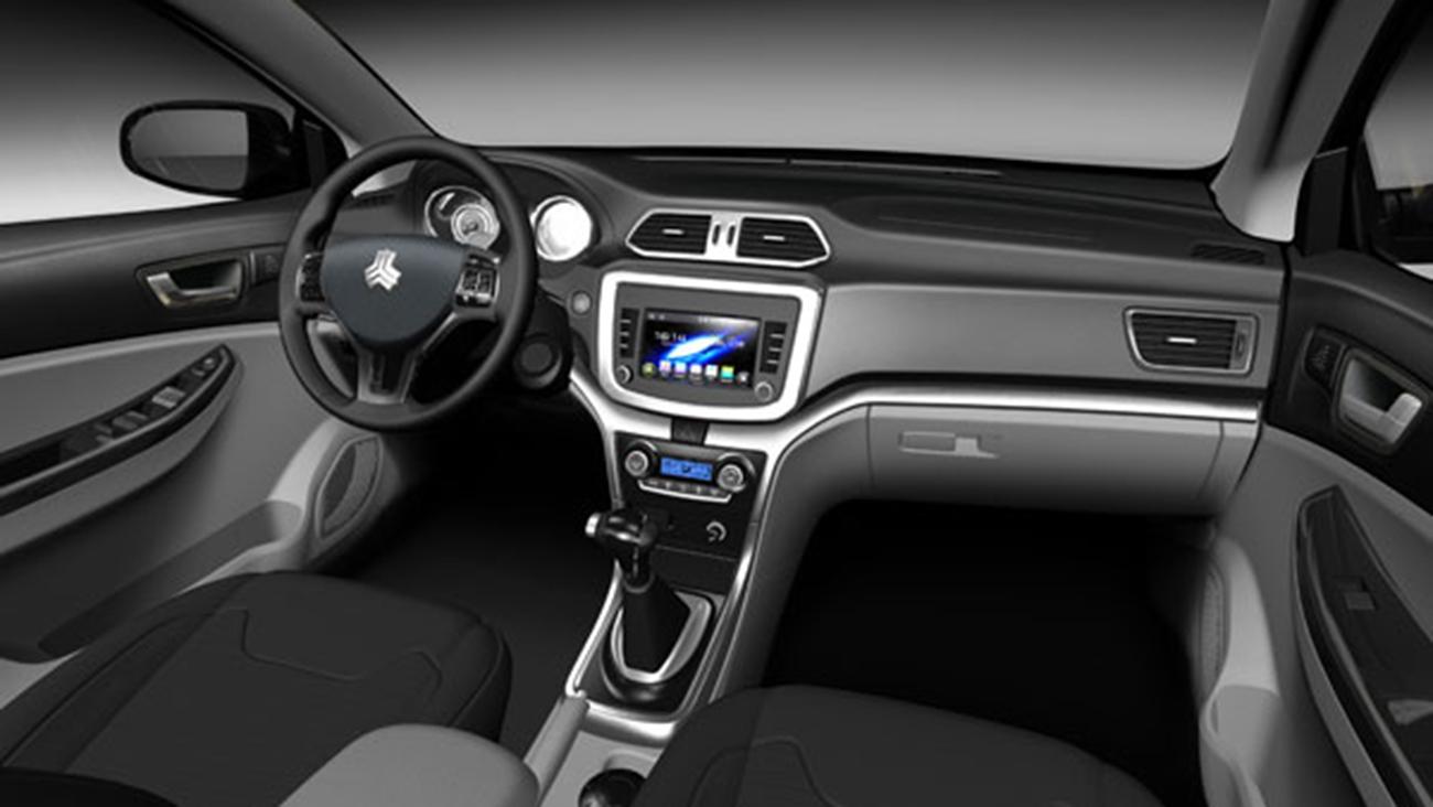 مشخصات خودرو شاهین