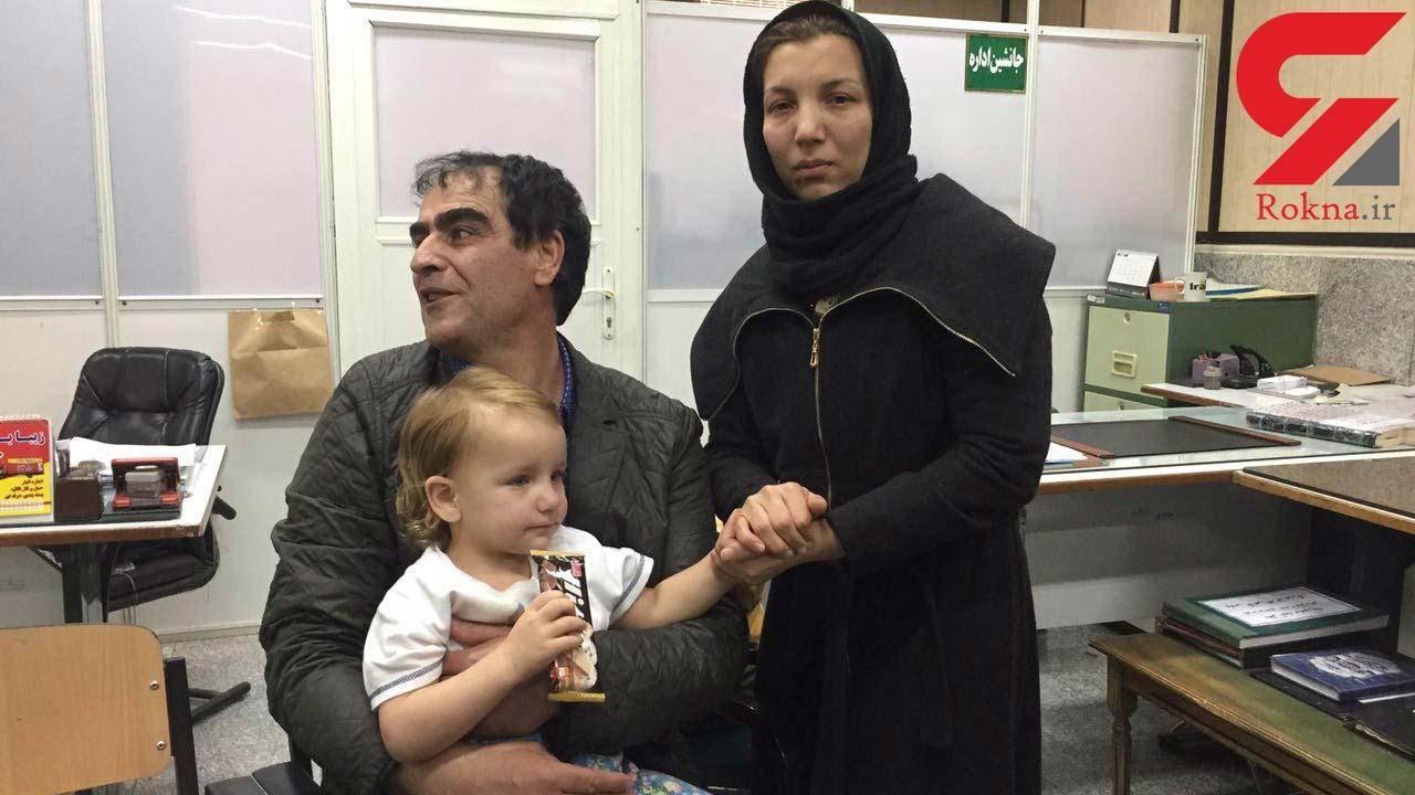 باران دختر چشم آبی تهرانی پیدا شد فیلم و عکس