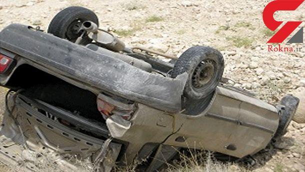واژگونی خودرو در اردبیل ۶ مجروح برجای گذاشت