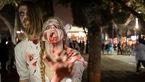 تصاویر وحشتناک از زامبیهای نفرت آمیز در خیابان های رژیم صهیونیستی+ تصاویر (18+)
