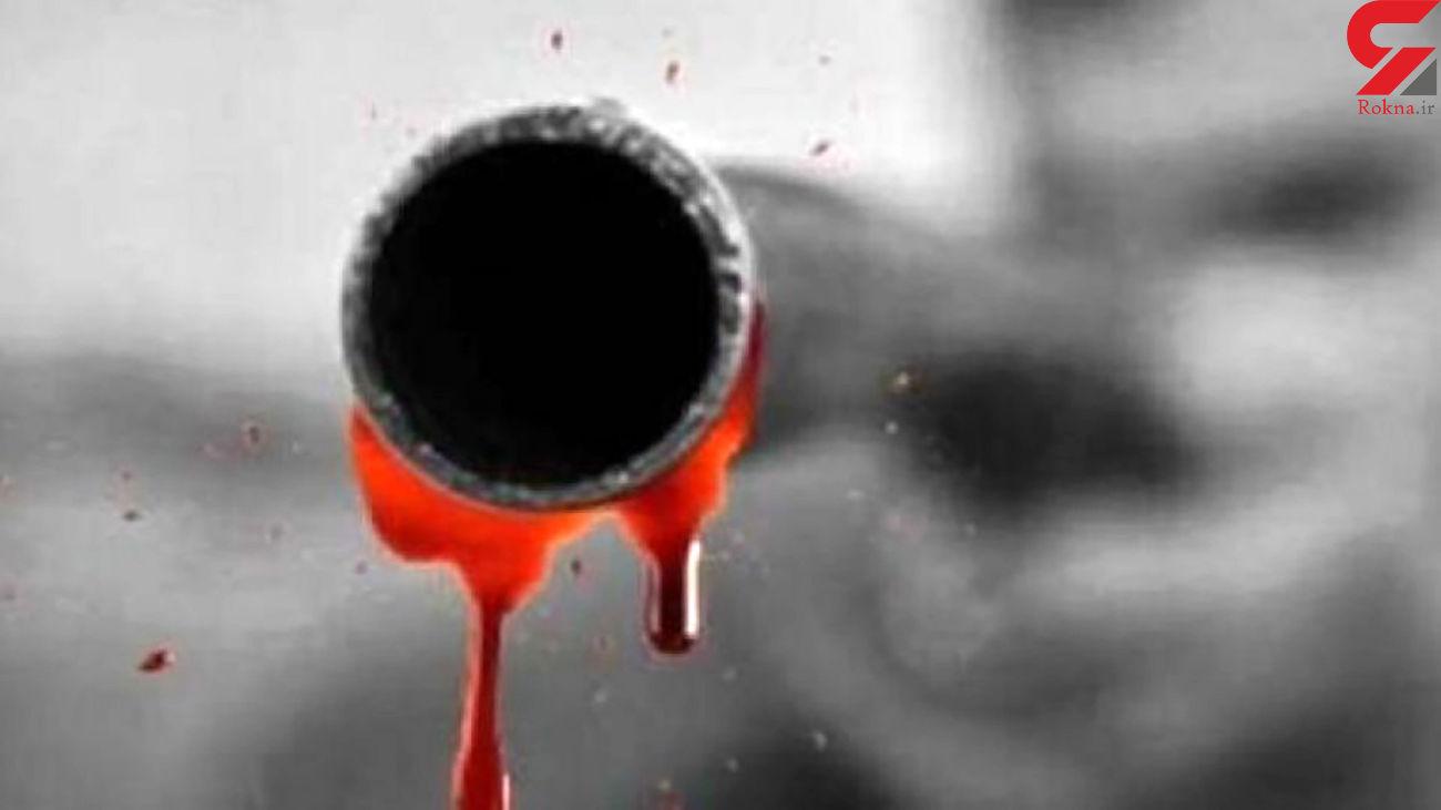 قتل زن باردار در مقابل چشمان دو کودکش  + عکس قاتل