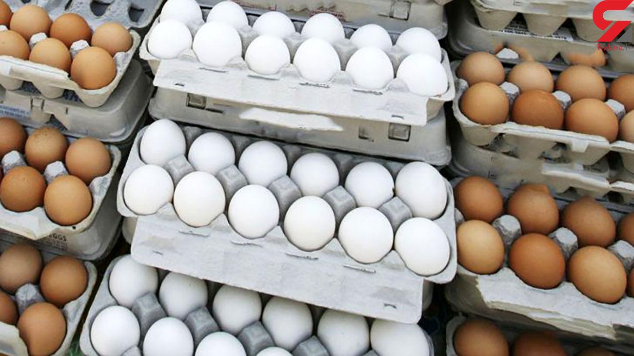 قیمت تخم مرغ در بازار امروز چهارشنبه 24 دی ماه 99 + جدول