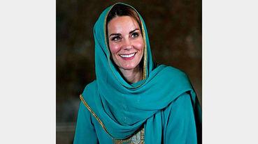 عروس ملکه انگلیس با حجاب شد + عکس