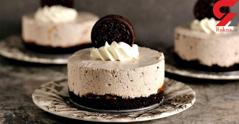 کیک بستنی اورئو خانگی بپزید + دستور تهیه