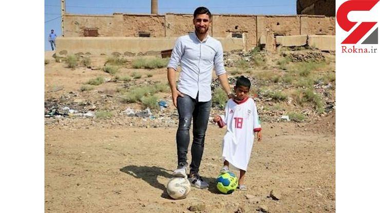 پیراهن جهانبخش برتن متین / جهانبخش به کوره های آجرپزی خاورشهر رفت+ عکس