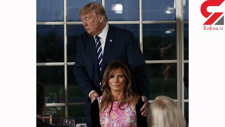 جولان خالهزنکی زن و دختر ترامپ در یک مراسم مهم+عکس