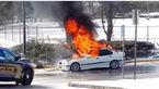 اعتراض های گسترده به آتش گرفتن «بی ام و» ها+عکس