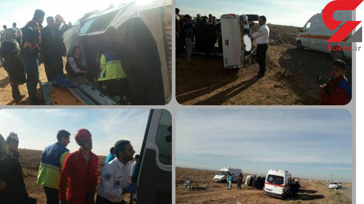 تصادف خونین خودروی کاپرا در نیشابور+ عکس