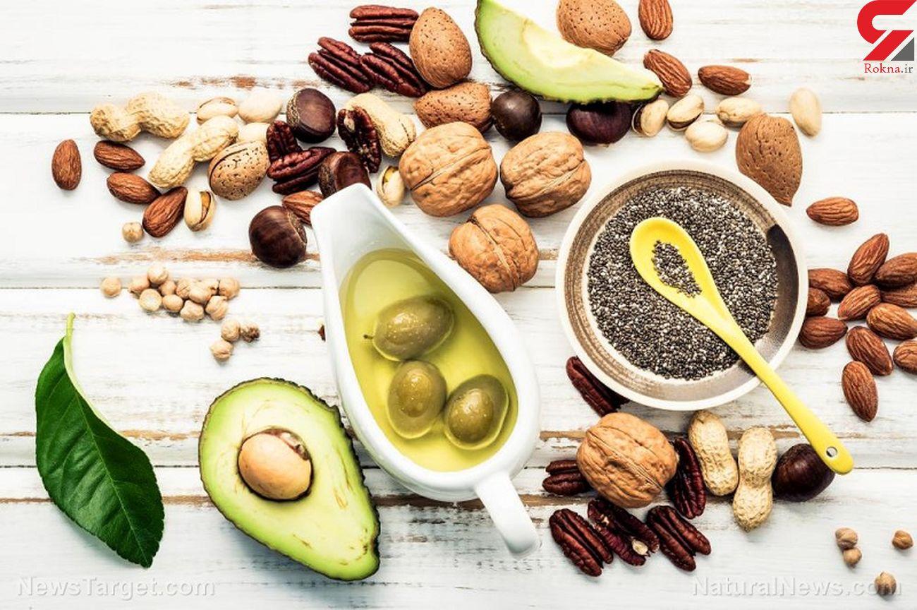 بیماری های قلبی را با این مواد غذایی چرب اما پرخاصیت شکست دهید