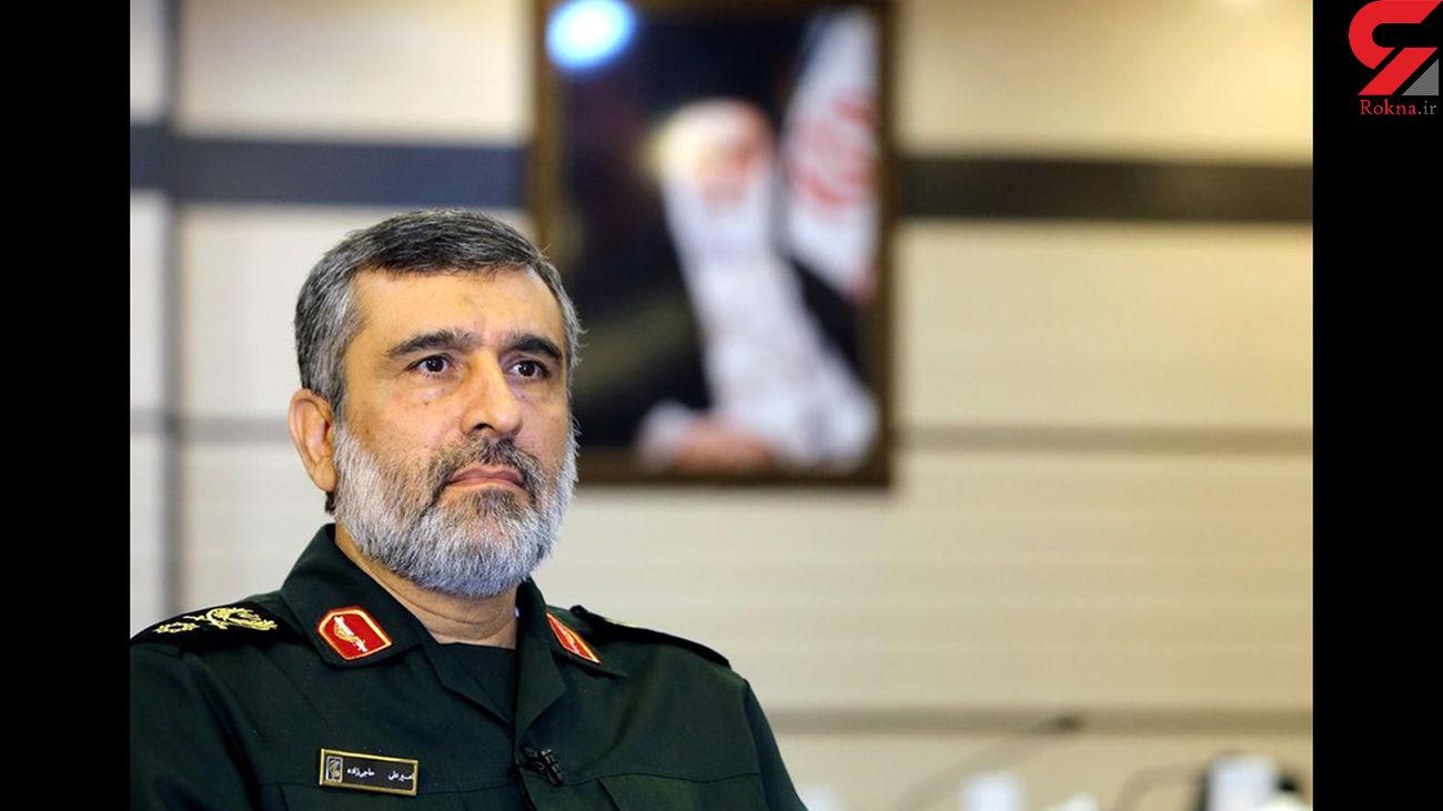 سردار حاجی زاده: سامانه های پدافندی ارتش و سپاه در سراسر کشور مستقر هستند