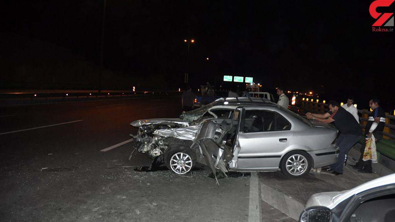 4 کشته و زخمی در تصادف رانندگی تبریز + عکس