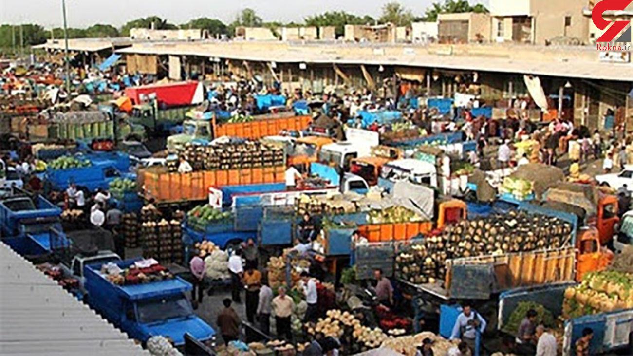 کشف بستههای موادمخدر در هندوانه/ متهم در بازار میوه و تره بار تهران دستگیر شد