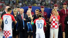 تحسین جهانی برای بانوی رئیس جمهور شطرنجی کرواسی