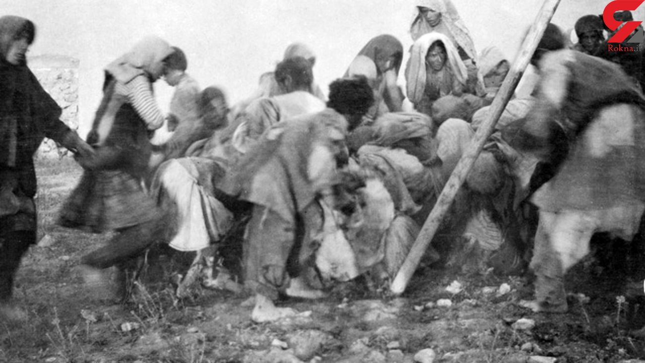 بازداشت 10 کودک خوار در قحطی بزرگ ایران / سنگسار 2 زن کودک پز !