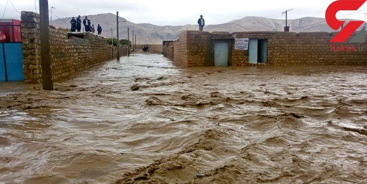 نجات جان مادر زاهدانی باردار گرفتار در سیلاب