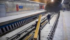 متروی تجریش پر از آب شد / این حادثه خطرناک است؟!