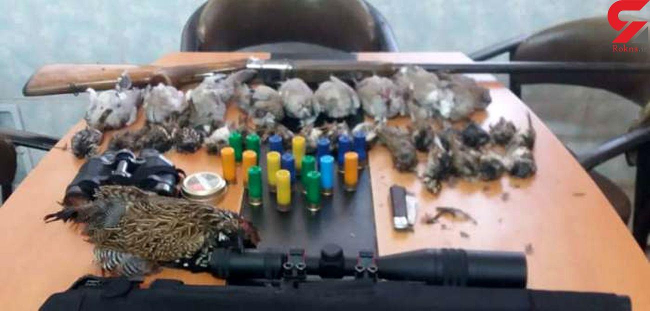 دستگیری متخلفین شکار غیر مجاز در پارک ملی کرخه