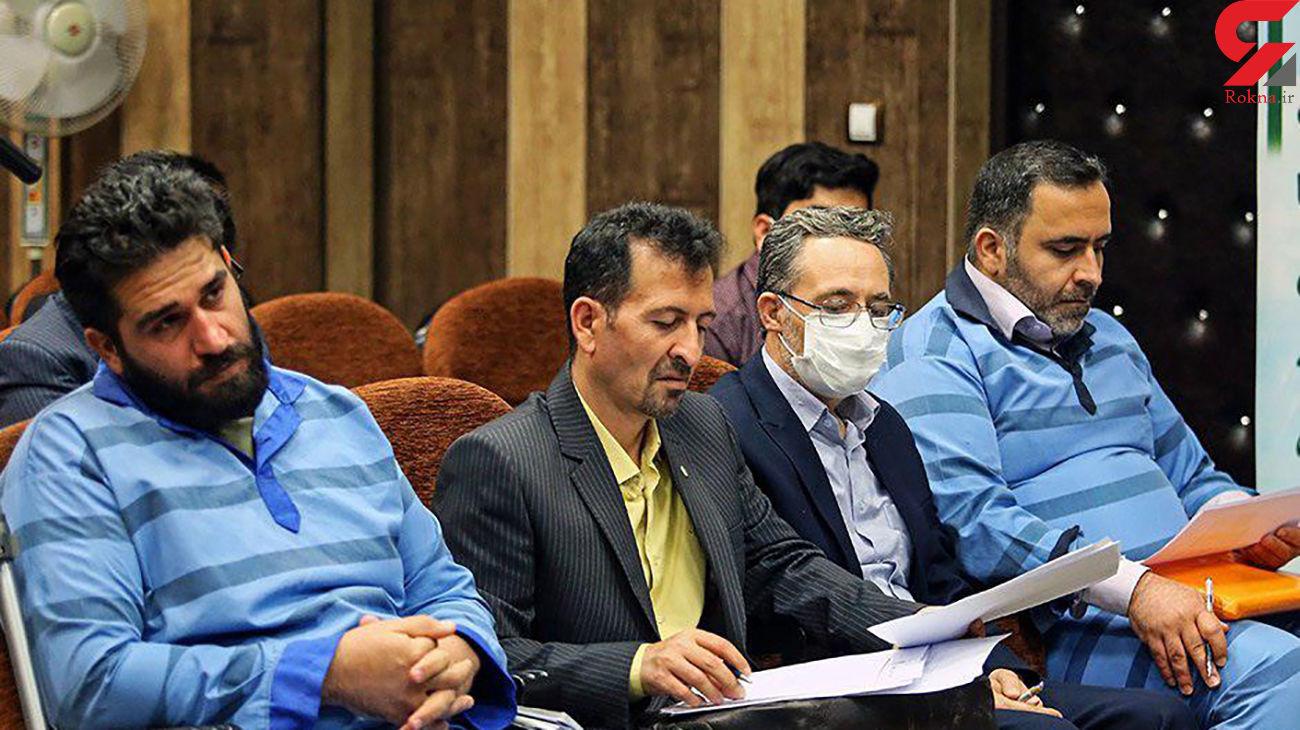 دلخوری قاضی در دادگاه پرونده مفسدان در پتروشیمی / 5 فراری کجا هستند؟