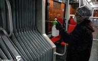 ضد عفونی کردن 5 هزار  اتوبوس تهران برای مقابله با کرونا/ نیاز به ده هزار مایع ضد عفونی برای هرروز + فیلم