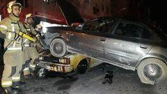 تصاویر عجیب حادثه ای خونین در کیانشهر