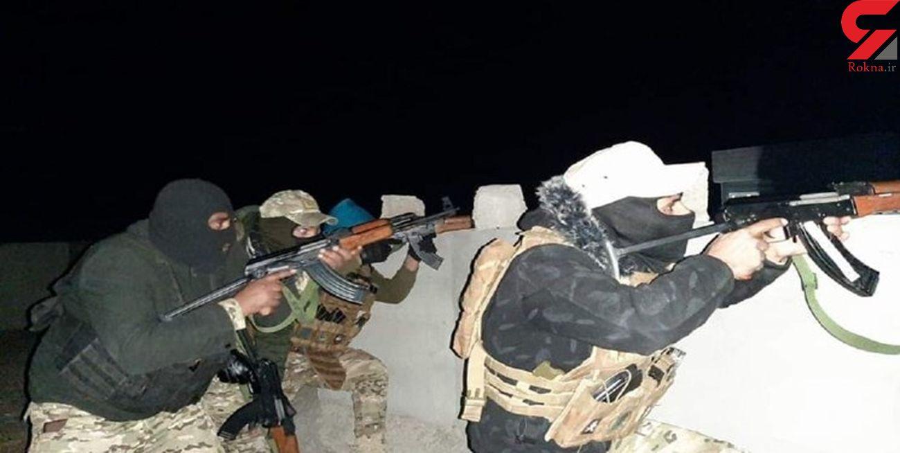 شهادت 10  نیروی الحشد الشعبی در درگیری با داعش/ تروریستها در محاصرهاند