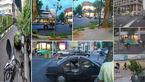 60 حادثه در توفان عصرگاهی پایتخت