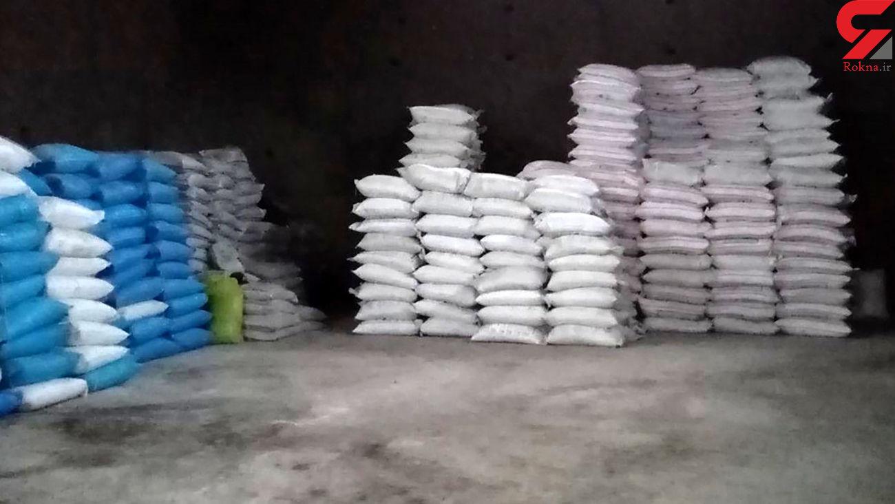 کشف کود شیمیایی قاچاق در رفسنجان