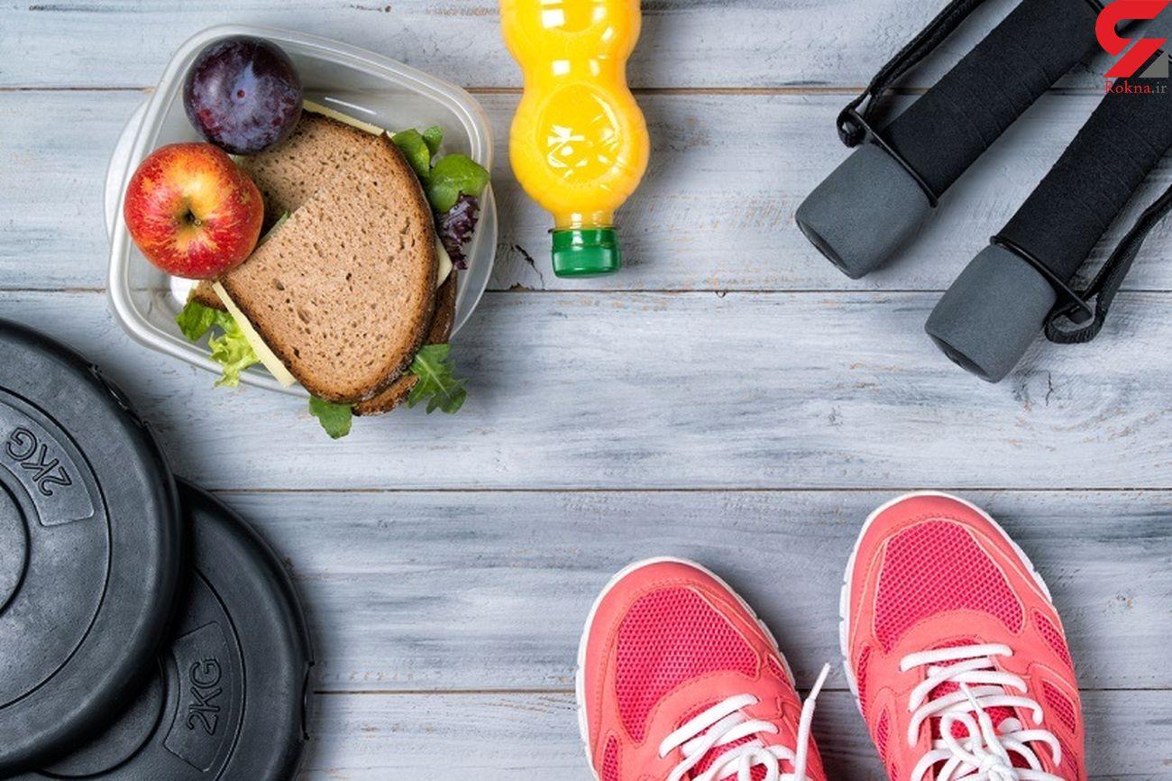 توصیههای تغذیهای مرتبط با ورزش و موثر بر نتیجه آن