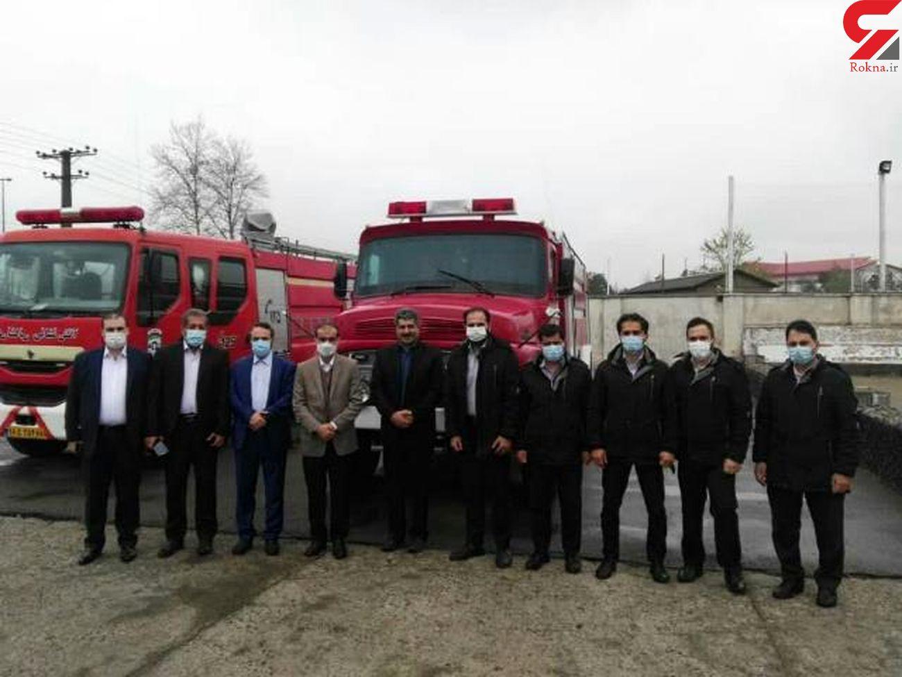 بازدید شهردار رشت از ایستگاه آتش نشانی