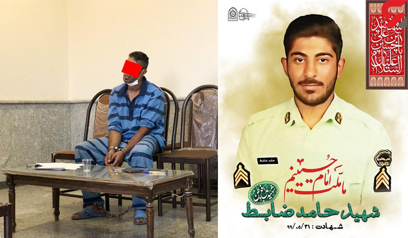 اعترافات عامل شهادت گروهبان یکم حامد ضابط در بازپرسی جنایی +عکس و فیلم