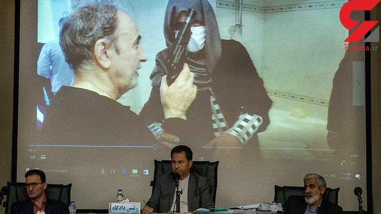 نجفی امروز در اداره آگاهی / صحنه قتل میترا مجددا بازسازی می شود + عکس
