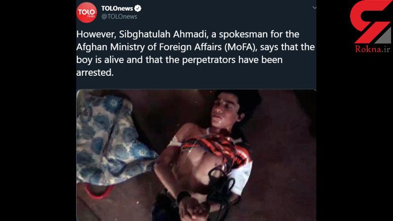شکنجه پسر 16 ساله افغان در قشم / او به همسر رییس شورا متلک انداخته بود !+ عکس