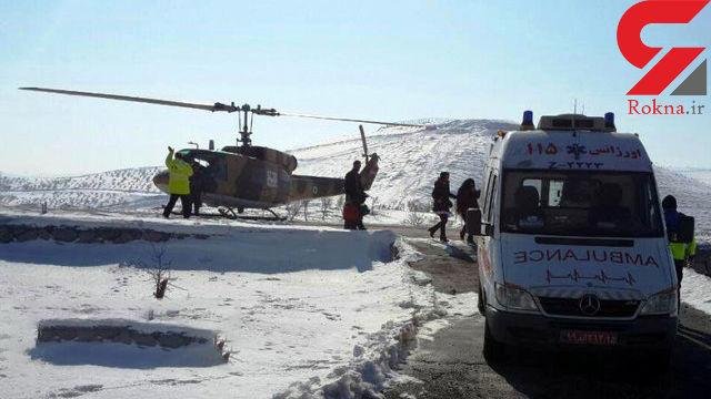 نجات جان مادر باردار پس از هفت ساعت عملیات نجات