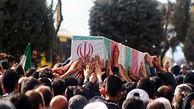 تشییع ۵ شهید گمنام در مازندران