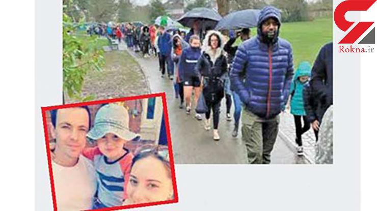 صف 5 هزار نفری نیکوکاران برای کمک به پسر 5 ساله سرطانی +عکس