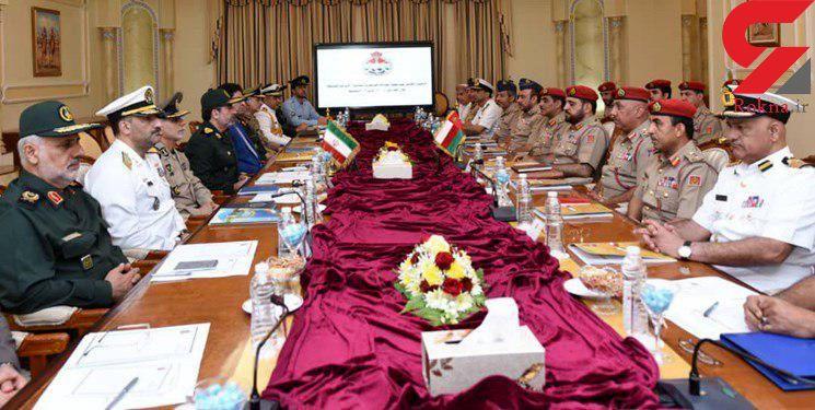 پانزدهمین اجلاس کمیسیون مشترک نظامی ایران و عمان برگزار شد