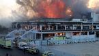 فیلم آتش سوزی وسیع در شهر جده عربستان + عکس