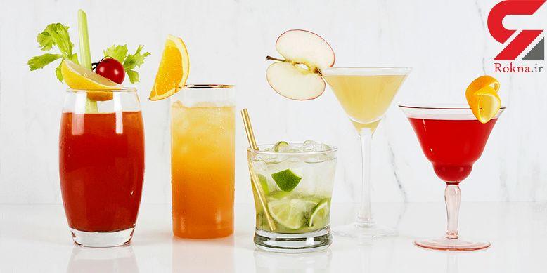 دستور تهیه کوکتل خنک لیمو، پرتقال و آناناس