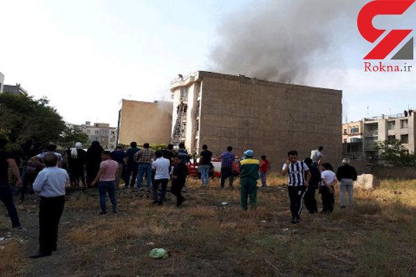 آتش سوزی بزرگ در قزوین / 18 تن سوختند + عکس