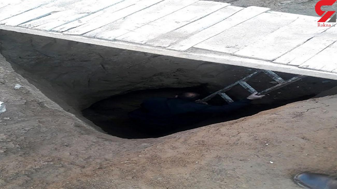 تونل 7 متری دزدان برای سرقت از بازار طلافروشان عجب شیر لو رفت + عکس